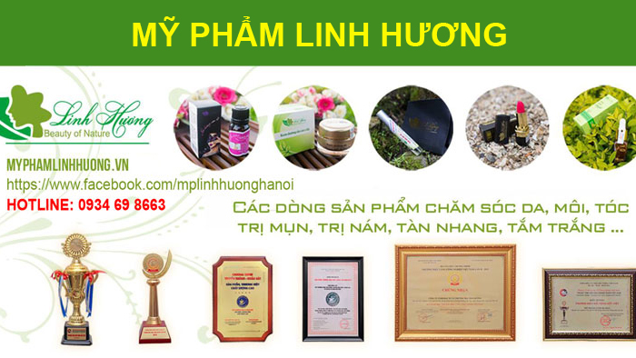 Đại lý mỹ phẩm Linh Hương
