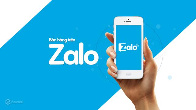 Tài liệu bán hàng trên Zalo cá nhân